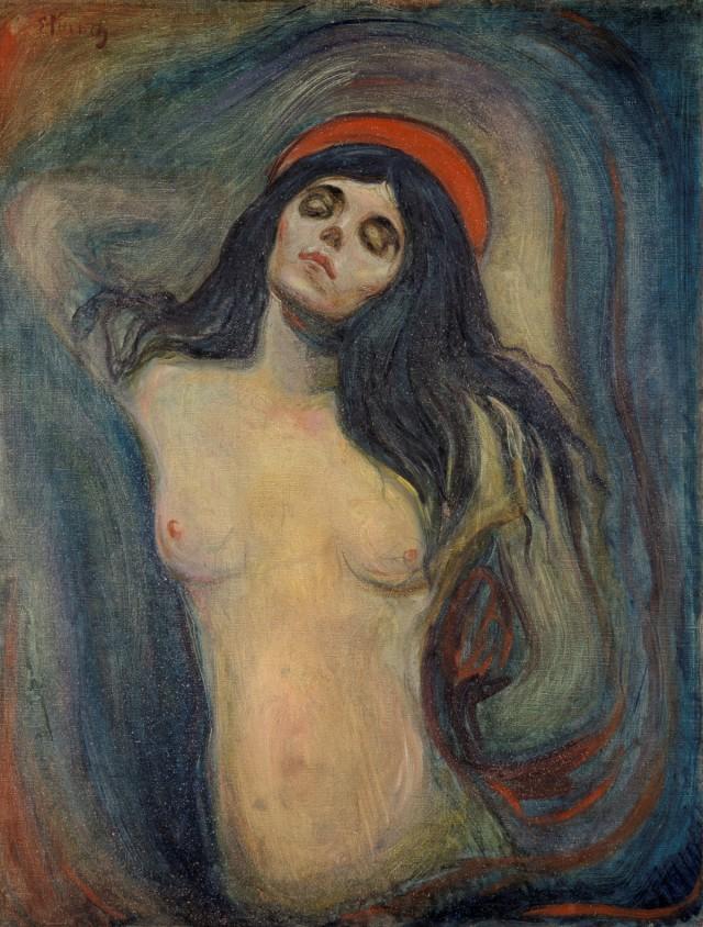 7600 произведений Эдварда Мунка в свободном доступе