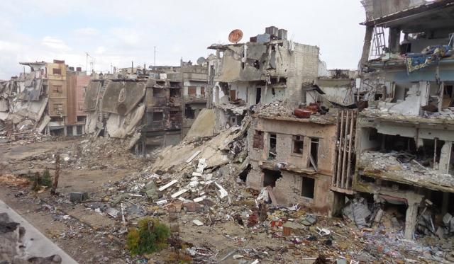 Военная разруха в Сирии - 38 фотографий