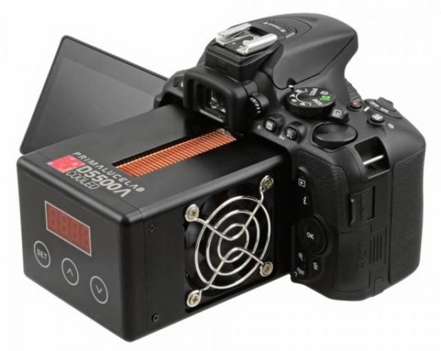 Nikon D5500a Cooled – зеркальный фотоаппарат с системой охлаждения датчика для астрофотографии