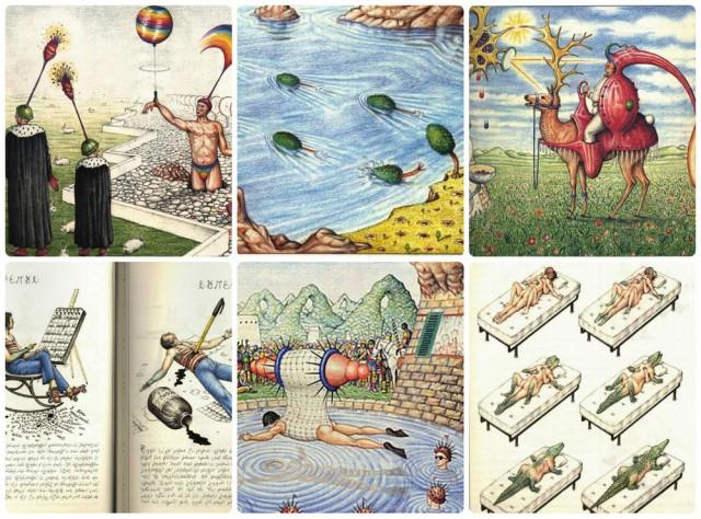 «Кодекс Серафини» – сюрреалистическая энциклопедия вымышленного мира, озадачившая лингвистов