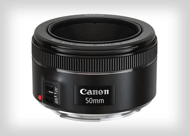 Canon выпускает новый объектив 50 мм F/1.8 STM