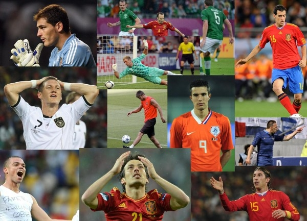 Самая дорогая сборная Европы по футболу за 2012 год