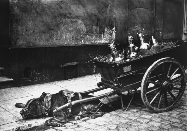 Улицы Амстердама 1890-1910 годов глазами «чёрного» импрессиониста Г. Х. Брейтнера