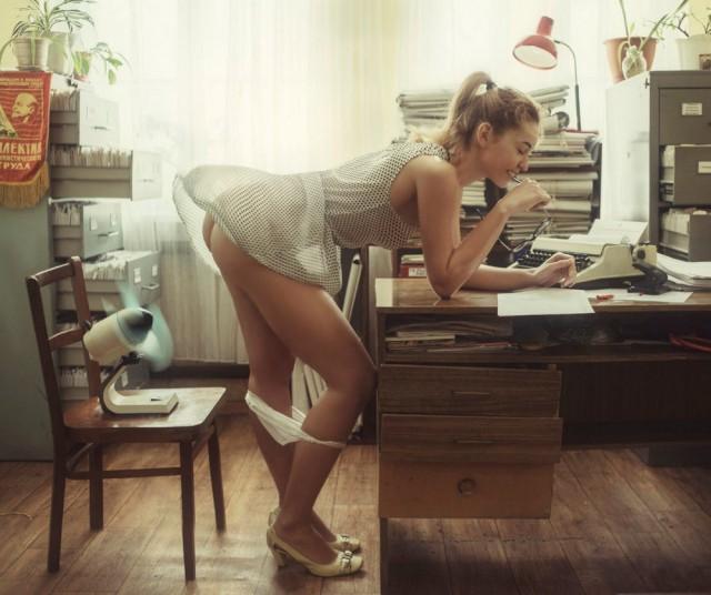 Давид Дубницкий затейливо фотографирует женскую красоту и очарование