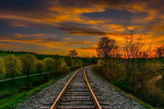 Дорога в закат