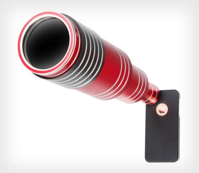 Вот так выглядит 80-ти кратный телефото объектив для смартфонов