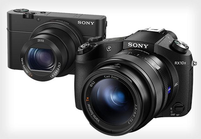 Sony RX100 IV и Sony RX10 II - новые компактные фотоаппараты  с поддержкой видео-4K