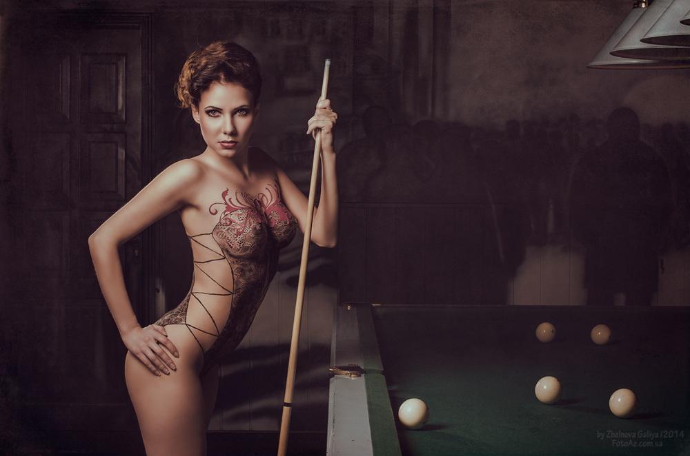 Сексуальные и сюрреалистические портреты Галии Желновой - 4