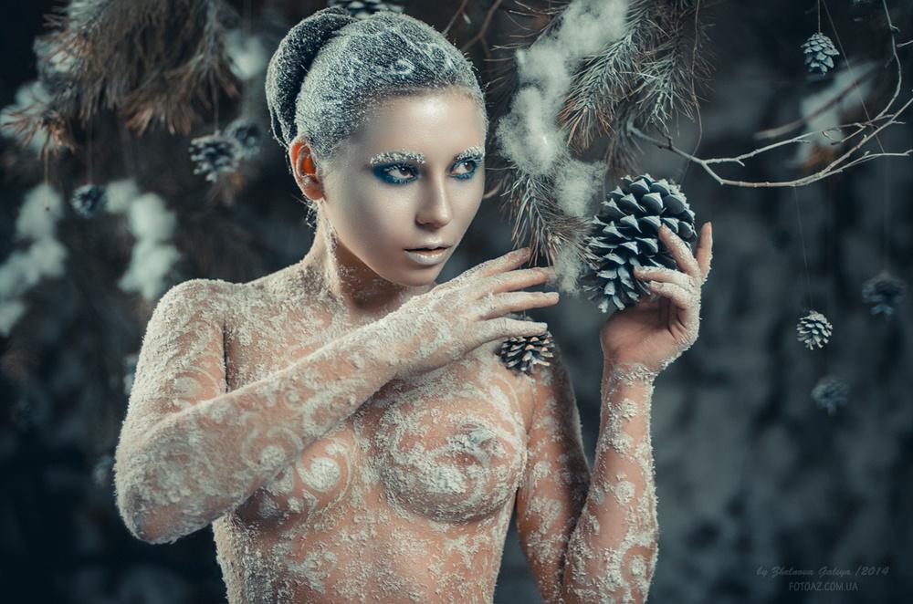 Сексуальные и сюрреалистические портреты Галии Желновой - 15