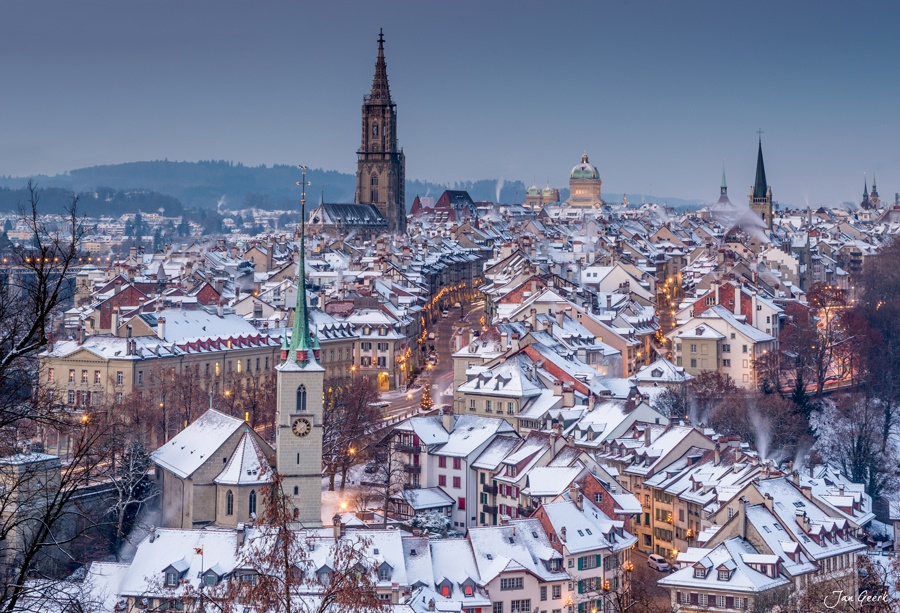 Photograph Bern in White by Jan Geerk on 500px