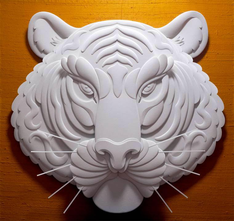 6-Художник из листов бумаги создает потрясающие скульптуры