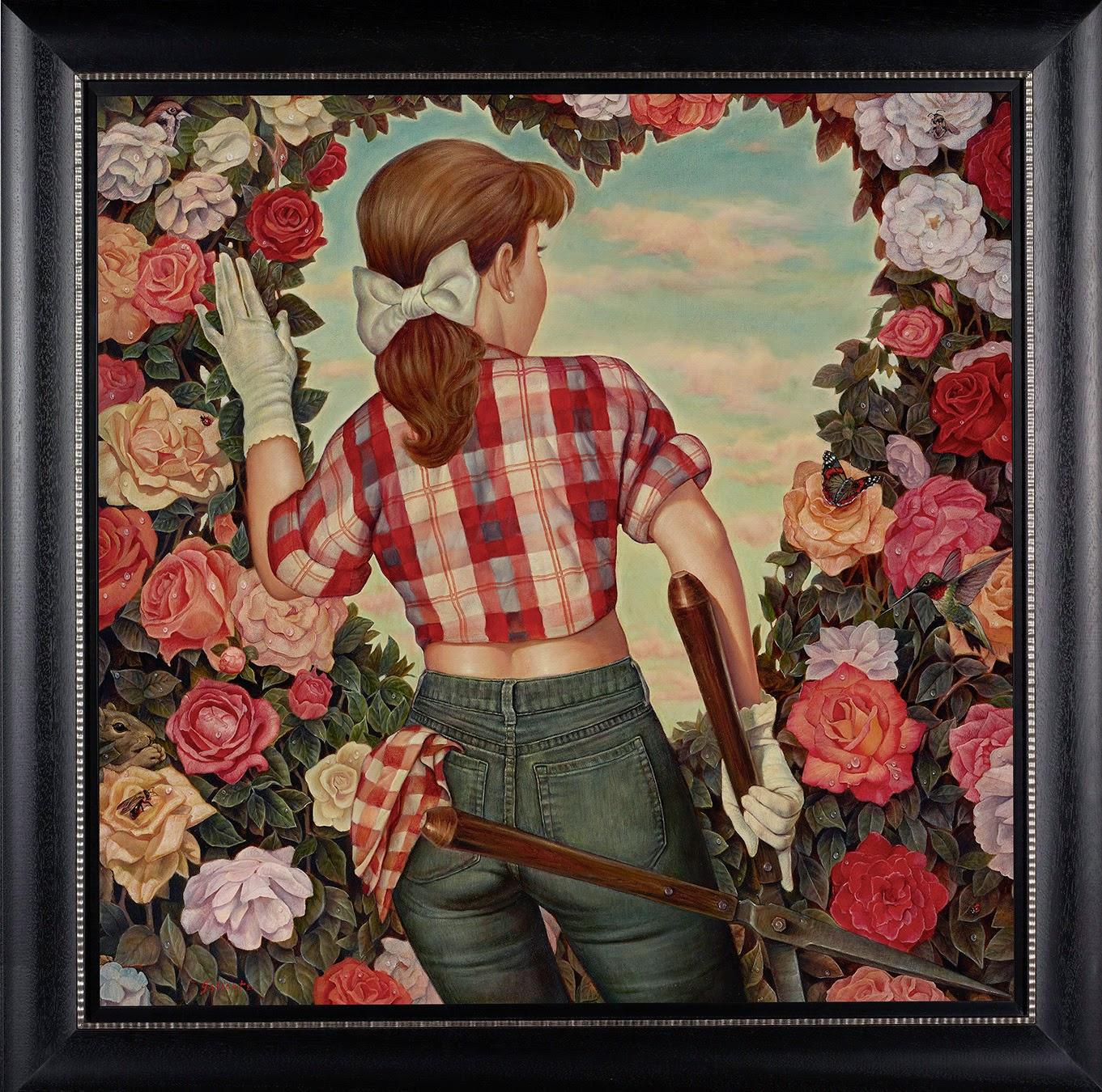 Вечная природа человечества в картинах Дэнни Гэлиота
