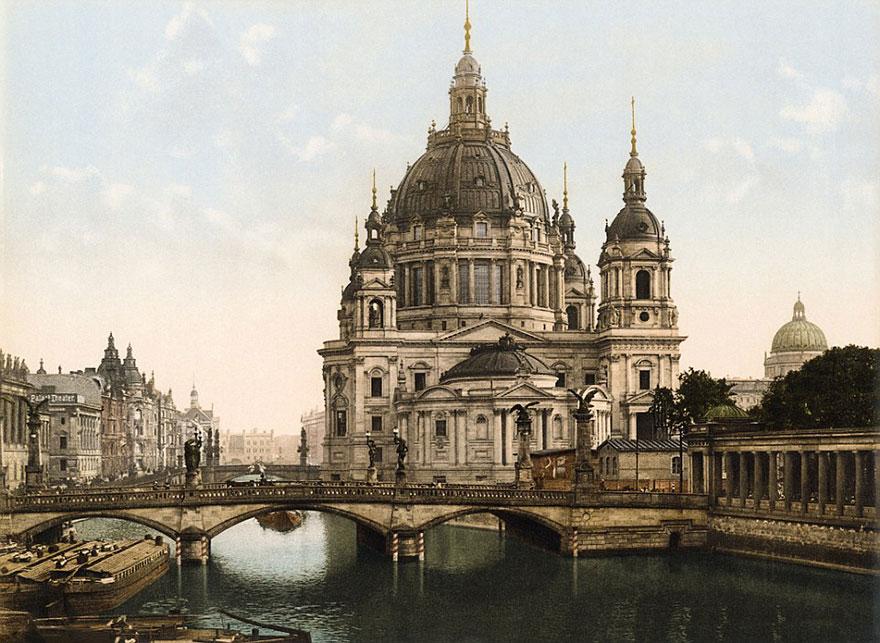 Достопримечательности Германии до военной разрухи – редкие цветные фотографии 1900 года-8