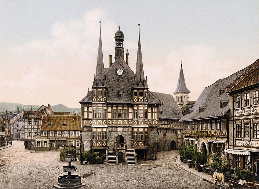 Достопримечательности Германии до военной разрухи – редкие цветные фотографии 1900 года-5
