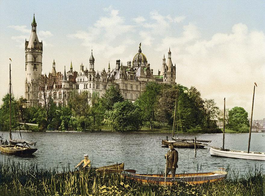 Достопримечательности Германии до военной разрухи – редкие цветные фотографии 1900 года-1