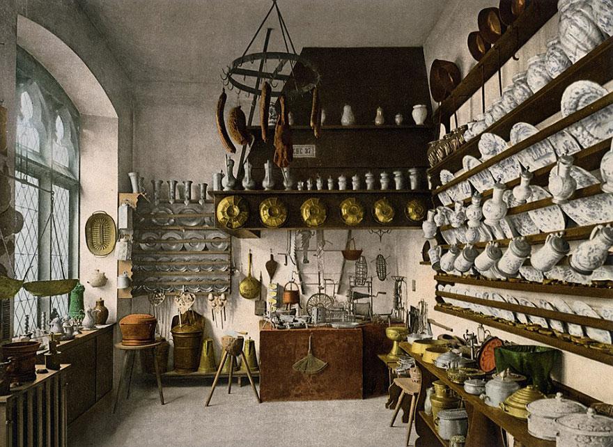 Достопримечательности Германии до военной разрухи – редкие цветные фотографии 1900 года-9