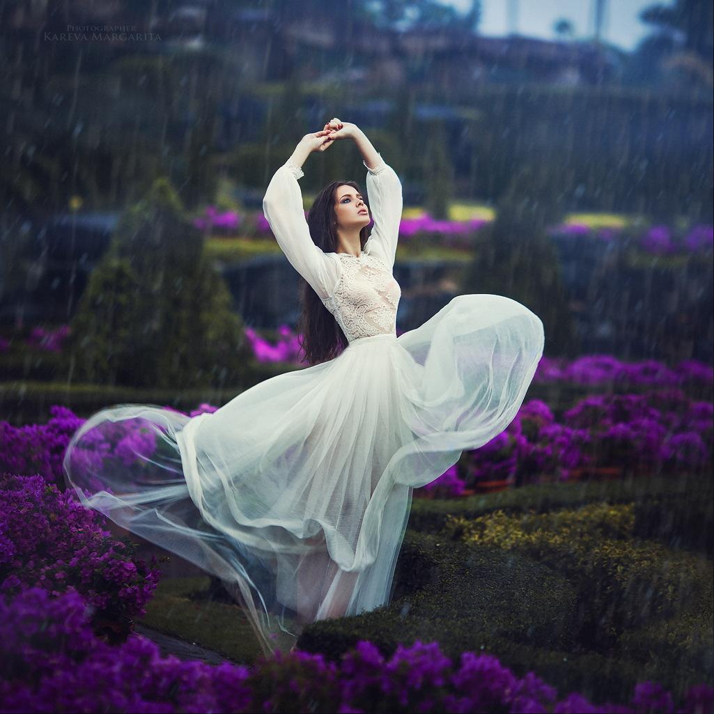 Фото прикол танец цветов