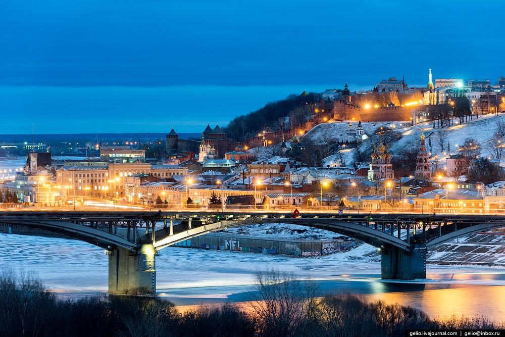 Зимние фотографии Нижнего Новгорода
