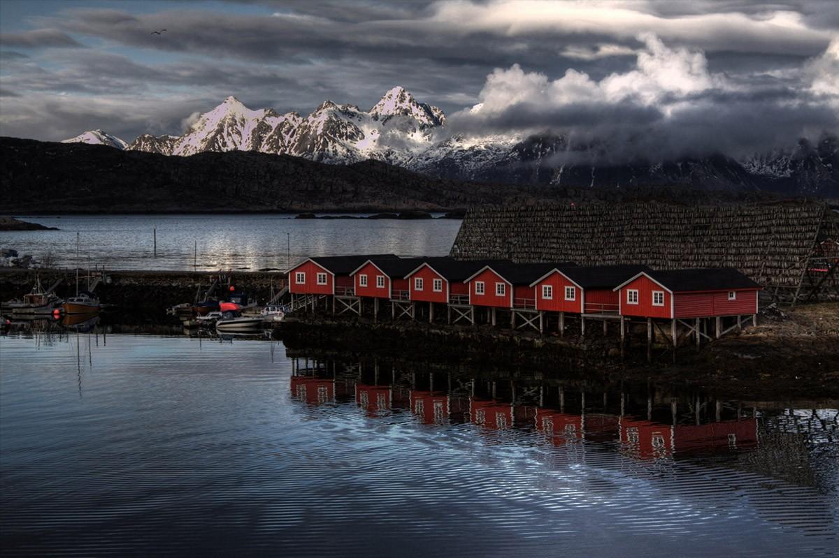 Красота Норвегии: Лофотенские острова