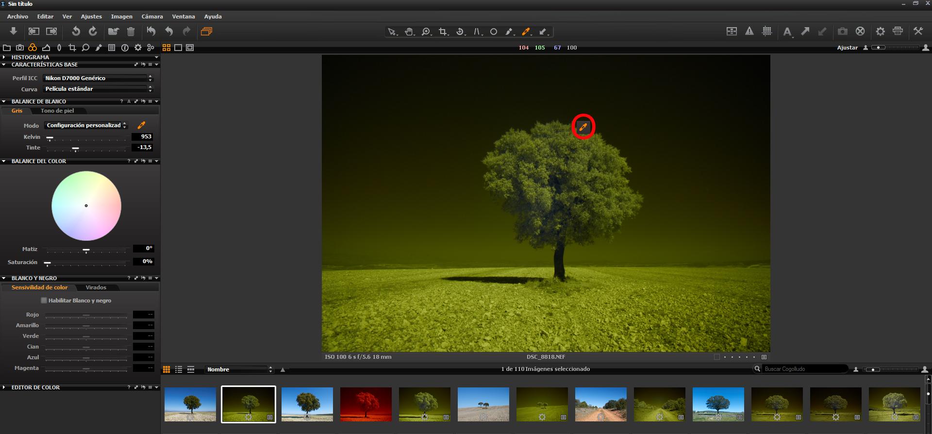 Как превратить пейзажное фото в сюрреалистическое инфракрасное изображение - 3