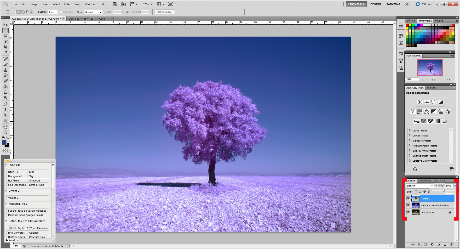 Как превратить пейзажное фото в сюрреалистическое инфракрасное изображение - 6