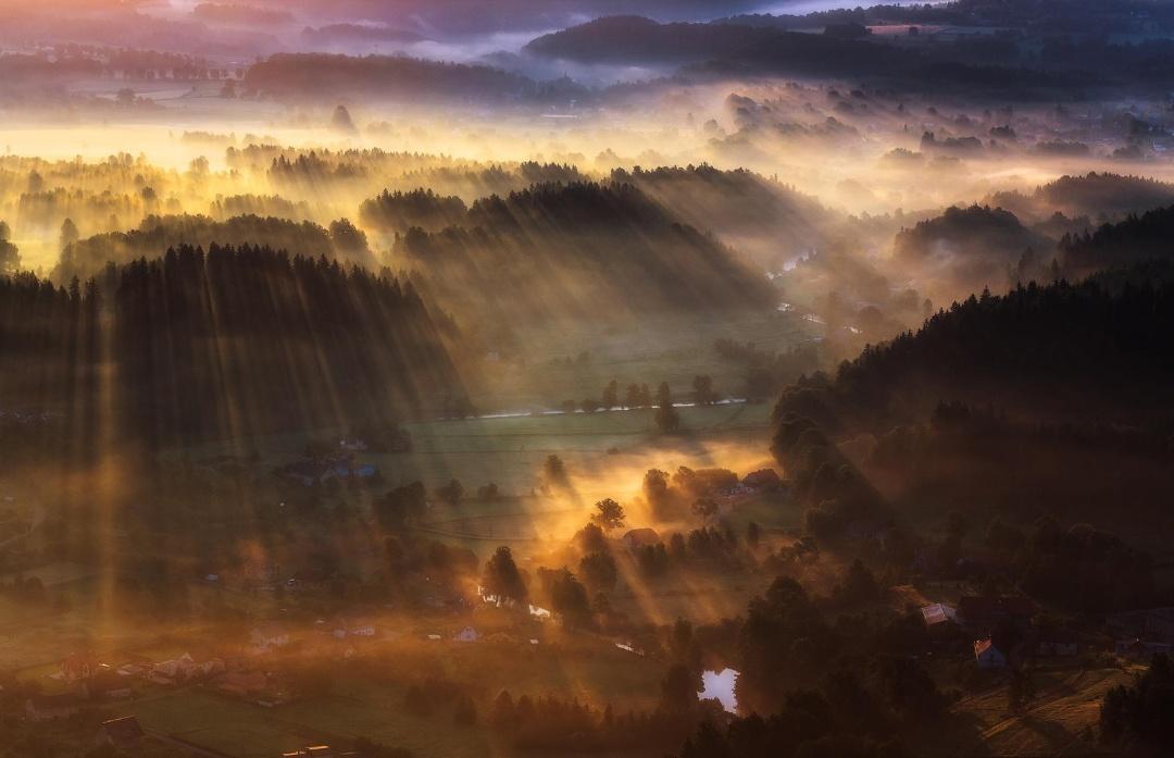 Великолепные аэрофотоснимки - Земля в перспективе - 15