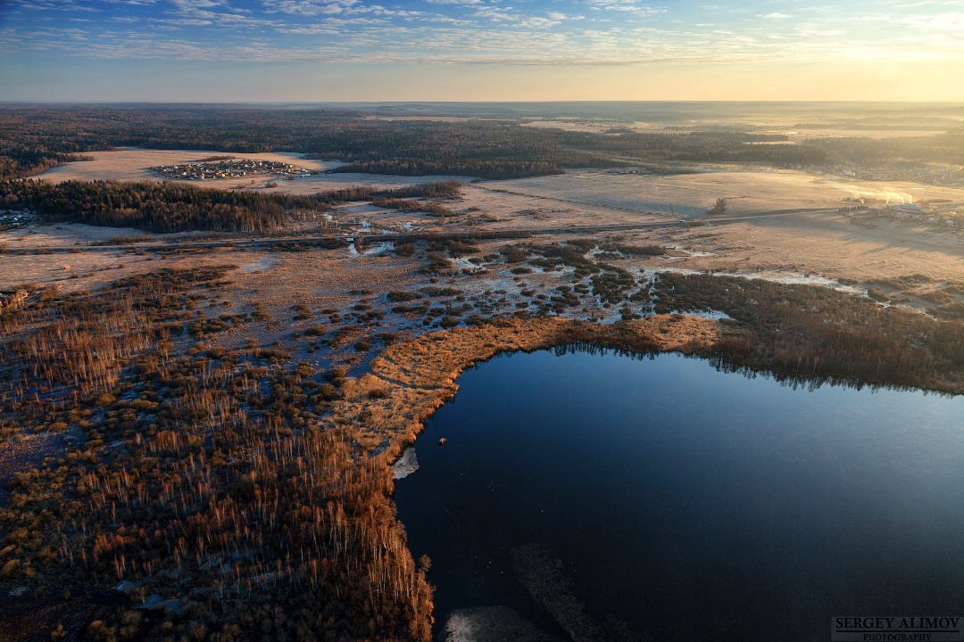 Великолепные аэрофотоснимки - Земля в перспективе - 18