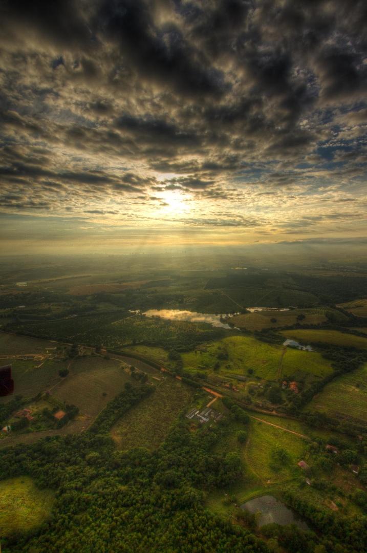 Великолепные аэрофотоснимки - Земля в перспективе - 10