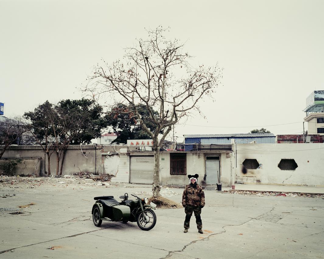 Байкеры Шанхая и их мотоциклы с колясками. Фотограф Орельен Шово - 4