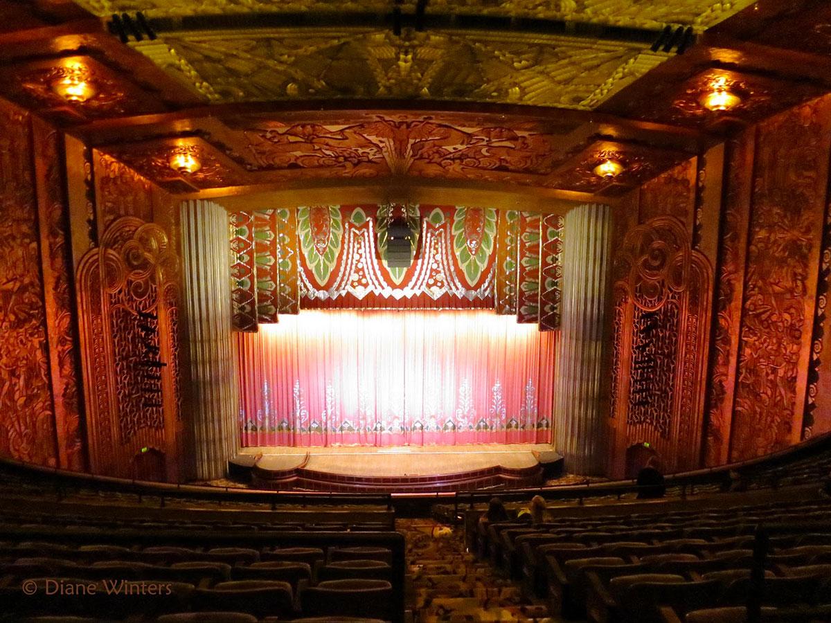 Кинотеатр Paramount, Окленд, Калифорния, Соединённые Штаты Америки-2