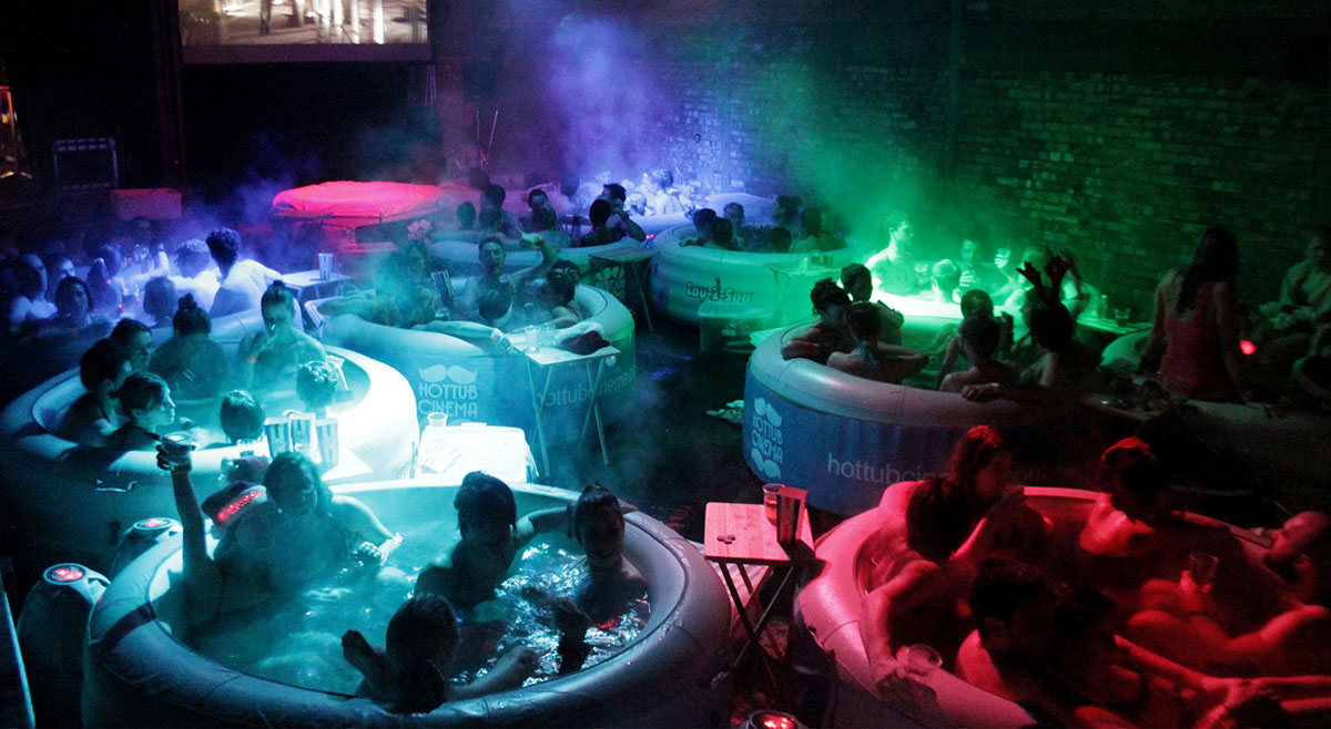 Hot Tube Cinema, Лондон, Англия