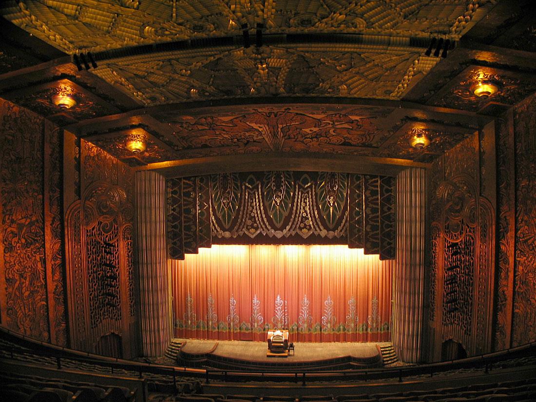 Кинотеатр Paramount, Окленд, Калифорния, Соединённые Штаты Америки