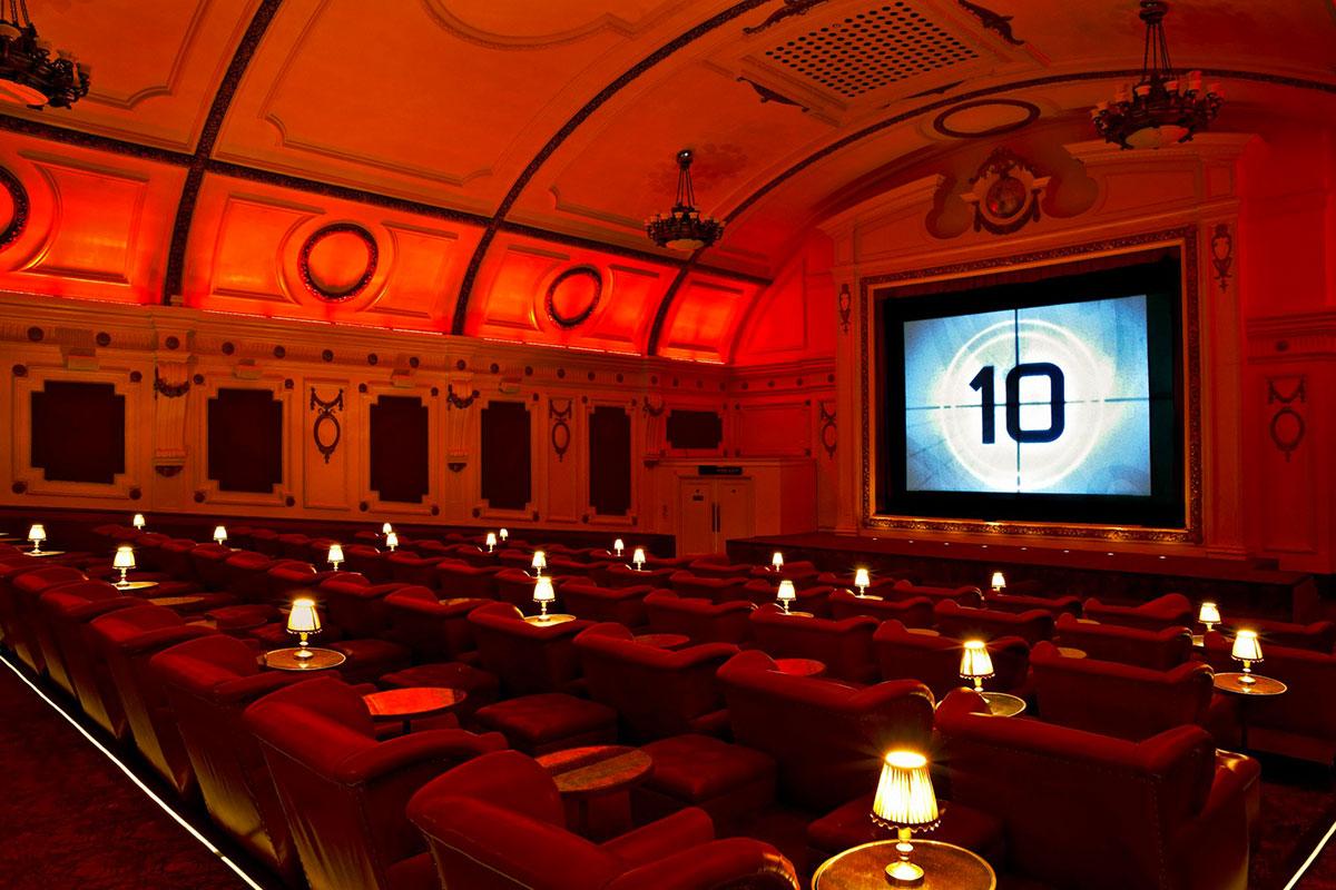 Electric Cinema в Ноттинг-Хилле, Лондон, Англия