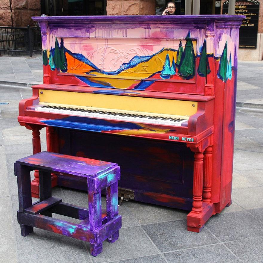 Как можно сделать пианино 741