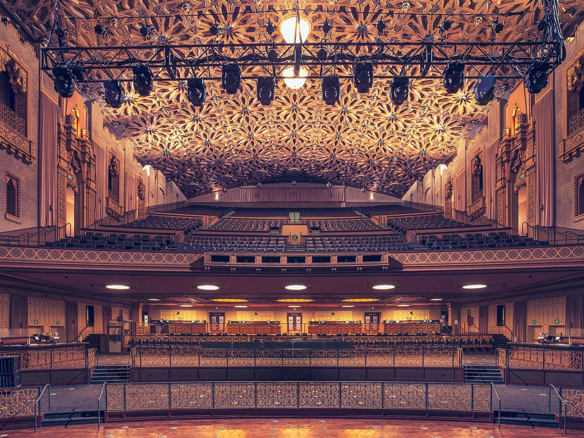 Fox Theater, Окленд, Калифорния, США-2
