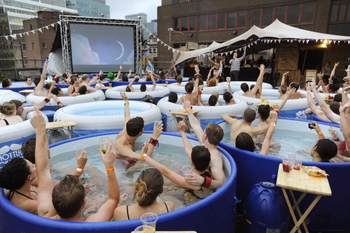 Hot Tube Cinema, Лондон, Англия-2