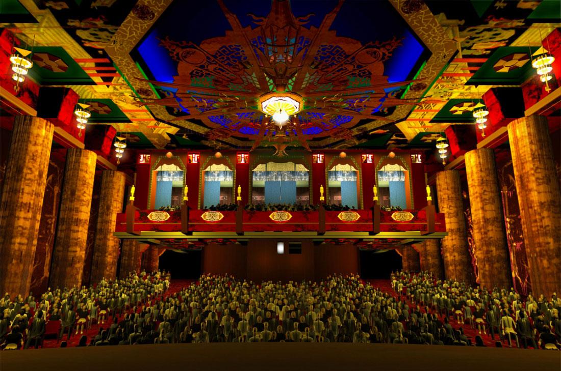 Китайский кинотеатр Граумана в Лос-Анджелесе, США