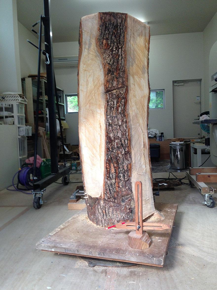 Сюрреалистические деревянные скульптуры Йошитоши Канемаки-1