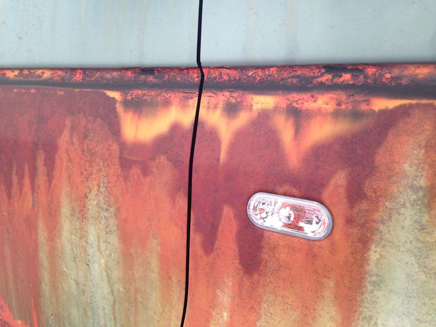Ржавый камуфляж для защиты автомобиля от воров-9