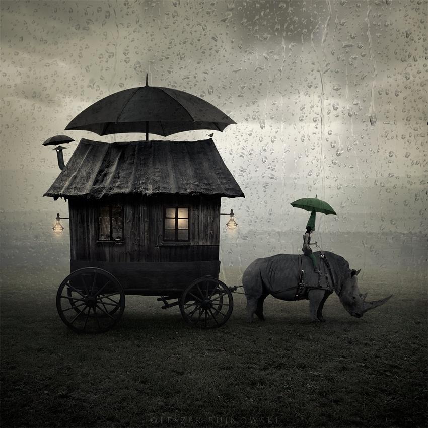 Таинственный сюрреализм фотографа Лешека Буйновского (21 фото)