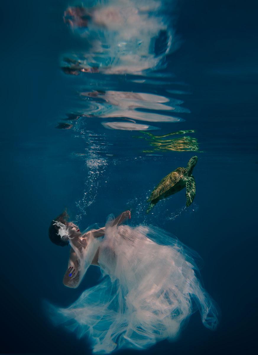17 чудесных подводных портретов от Дженн Бишоф-10