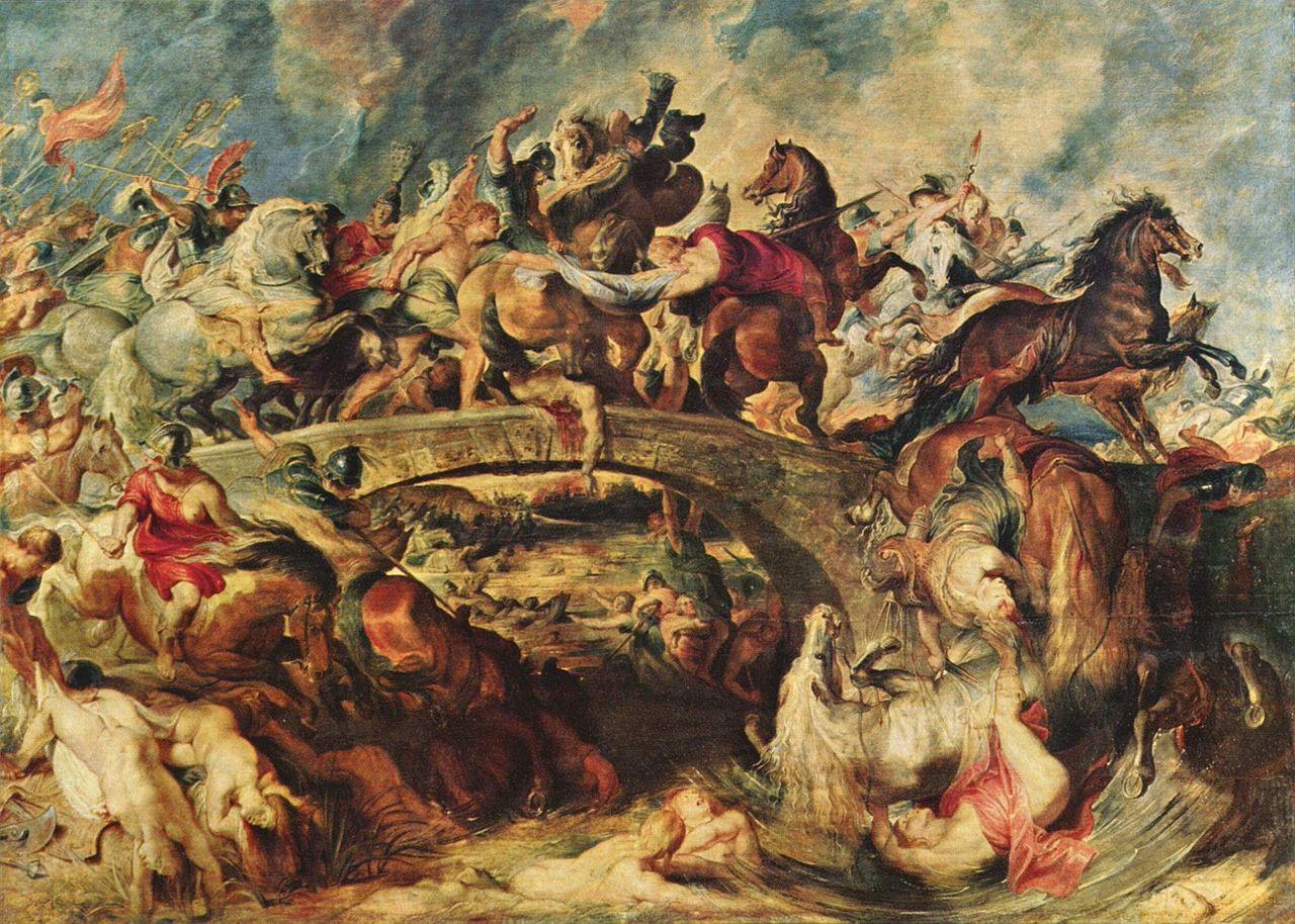 Bitva grekov s amazonkami