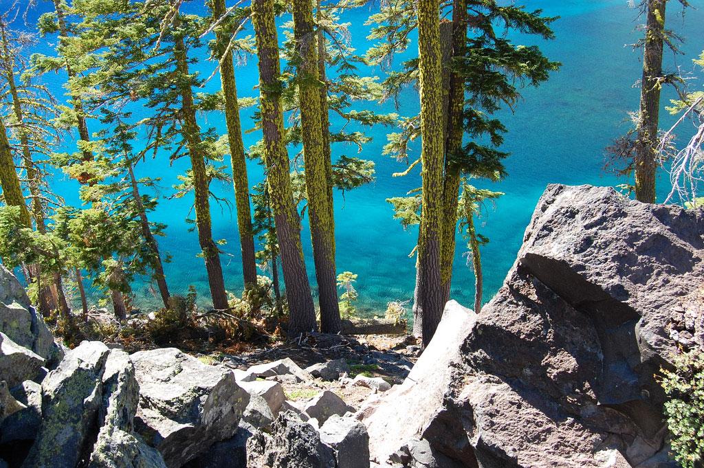Кратерное озеро Крейтер, штат Орегон, США