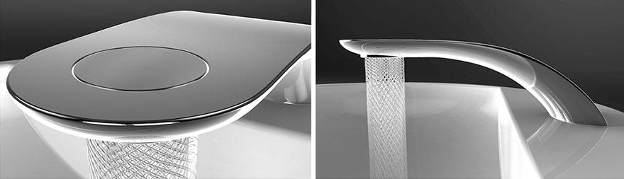 Кран от студента-дизайнера экономит воду и превращает её в красивые узоры-7