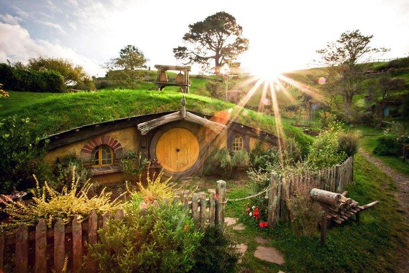 Хоббитон Новая Зеландия (2)