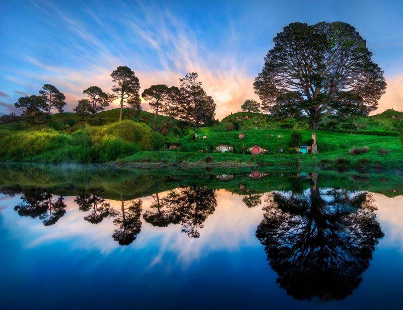 Хоббитон Новая Зеландия (15)