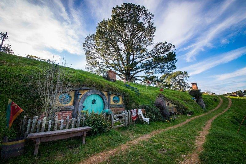 Хоббитон Новая Зеландия (4)