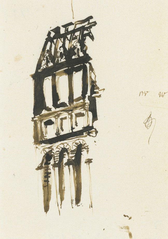 18-Виктор Гюго не только знаменитый писатель, но и талантливый художник