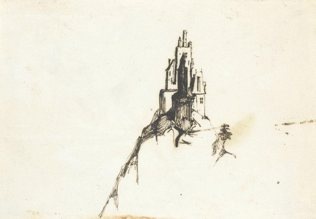 15-Виктор Гюго не только знаменитый писатель, но и талантливый художник