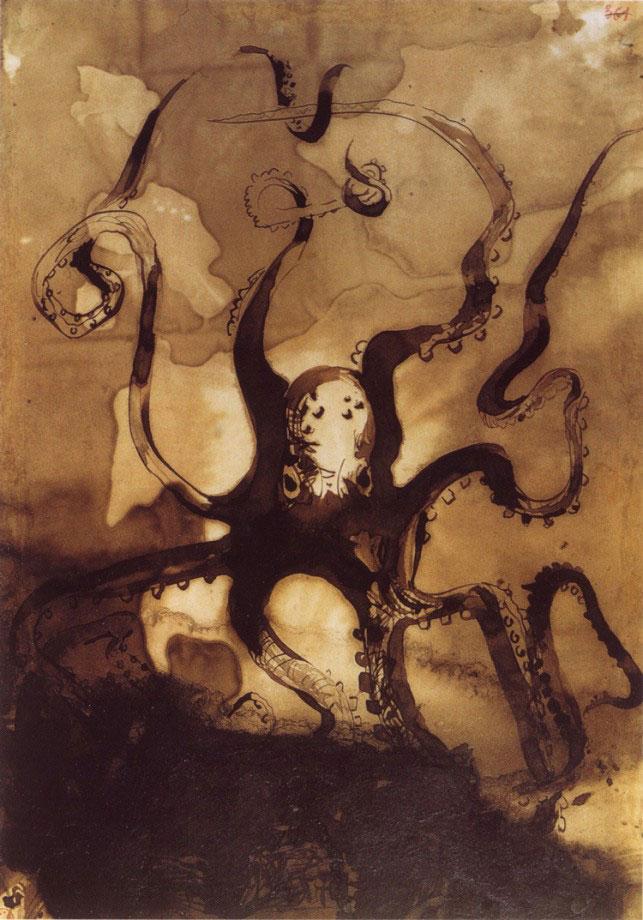 1-Виктор Гюго не только знаменитый писатель, но и талантливый художник